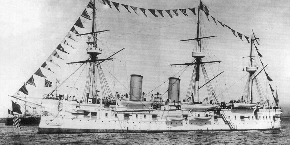 """Корейские исследователи нашли затонувший в 1905 году крейсер """"Дмитрий Донской"""""""