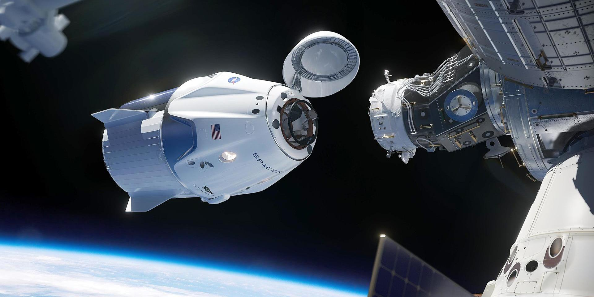 """Роскосмос посчитал """"туалет за шторкой"""" недостатком Crew Dragon"""