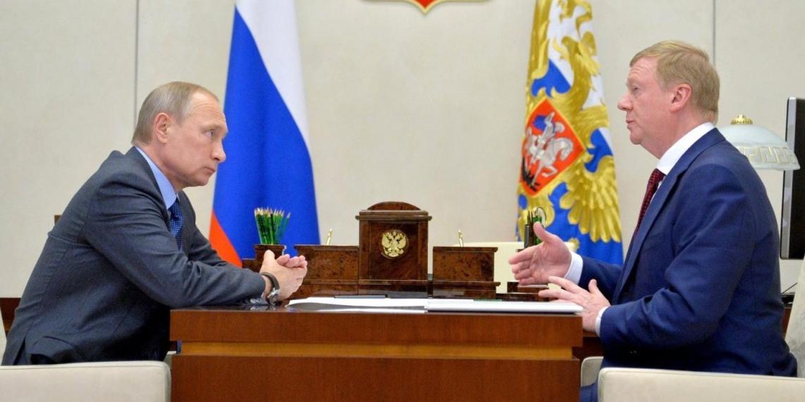 Чубайс просится у Путина на пенсию