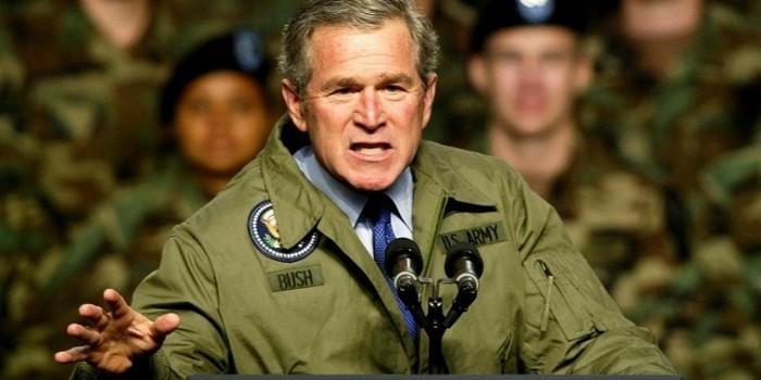 Джордж Буш предложил повторить его иракскую кампанию