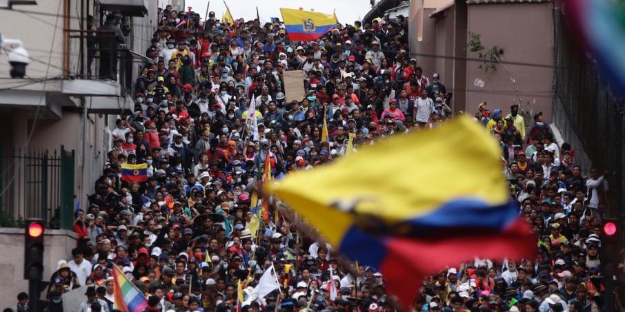 В протестах в Эквадоре нашли российский след