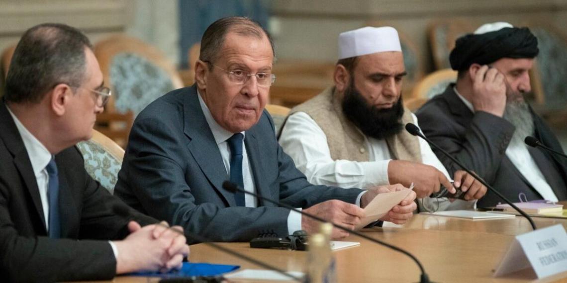 """Лавров охарактеризовал талибов как """"вменяемых людей"""""""