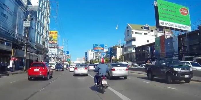 Над Бангкоком промчался огромный огненный шар (ВИДЕО)