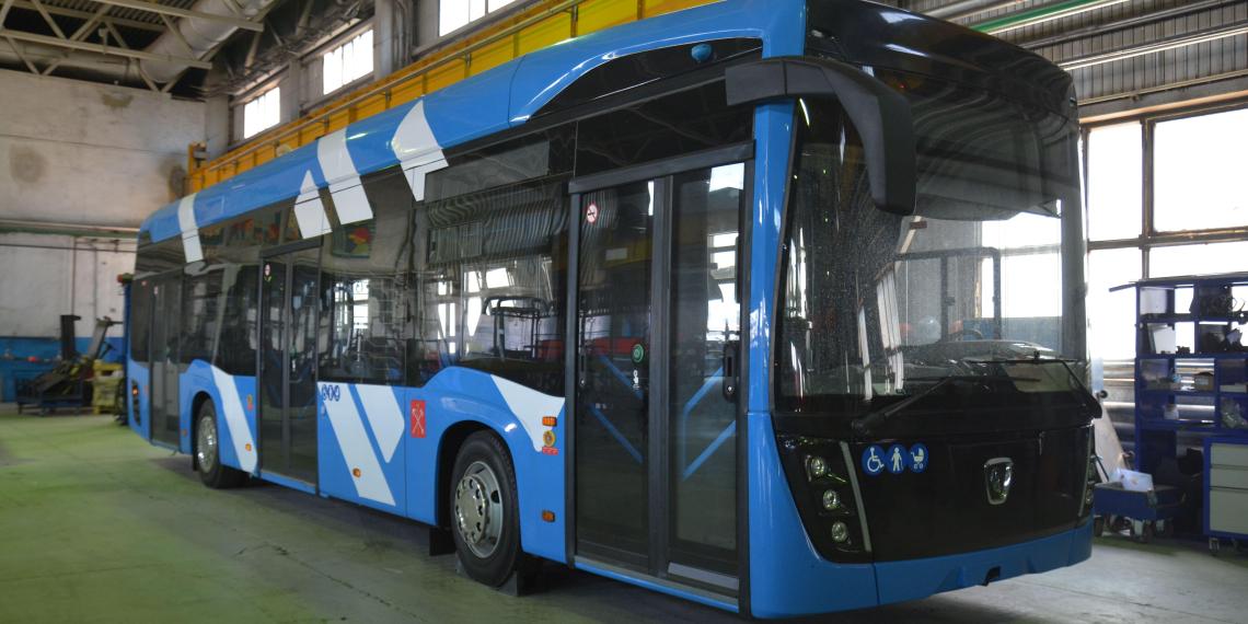 КамАЗ готовится начать выпуск троллейбусов в следующем году
