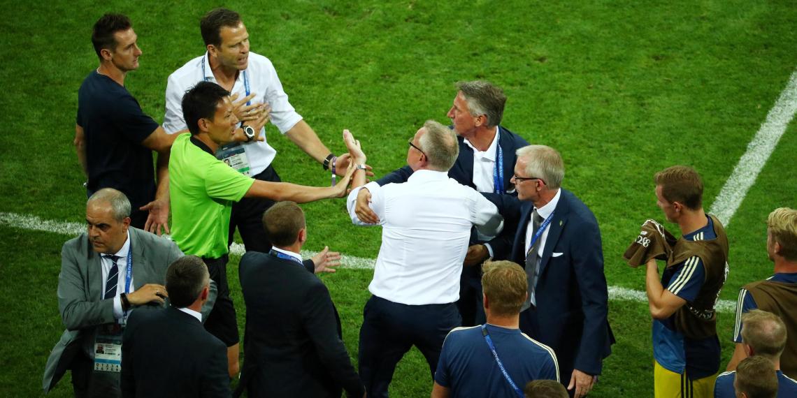 FIFA завела дело на представителей сборной Германии