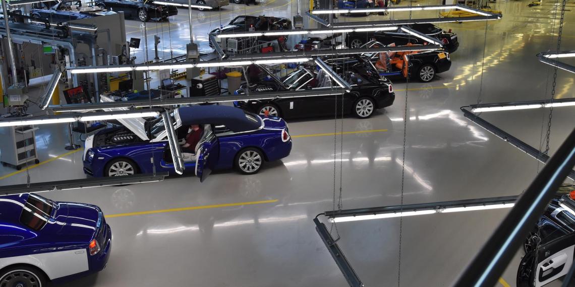 Rolls Royce перейдет на выпуск аппаратов вентиляции легких