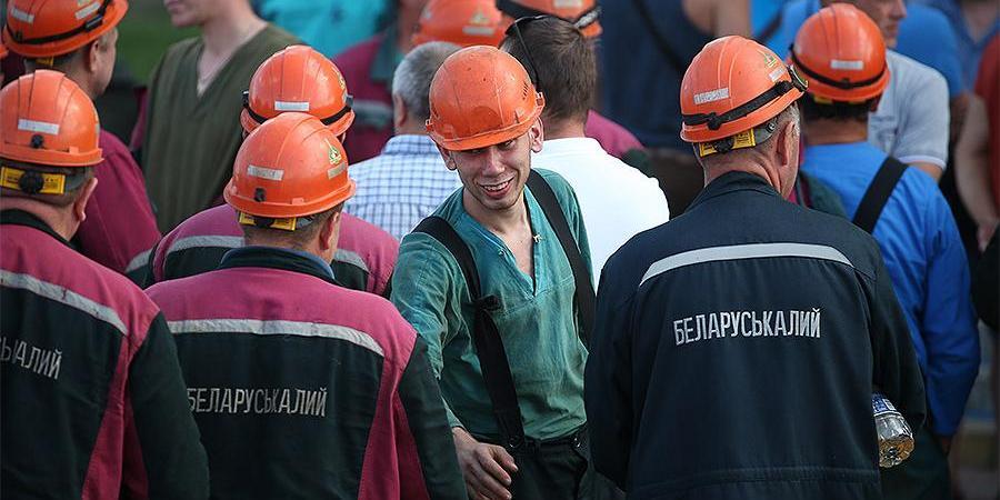 Украинские шахтеры отказались заменять бастующих белорусских