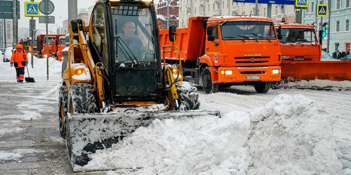 В Москве за сутки выпало рекордное за полвека количество снега