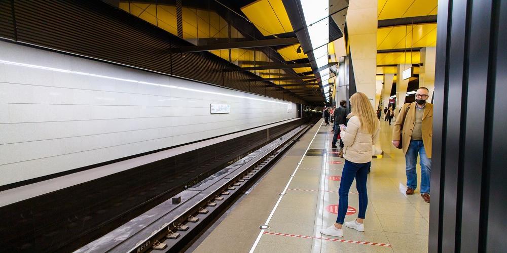 В московском метро завершили строительство сети 5G-ready