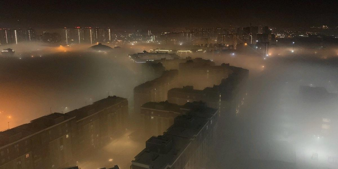 Красноярск стал городом с самым грязным воздухом в мире
