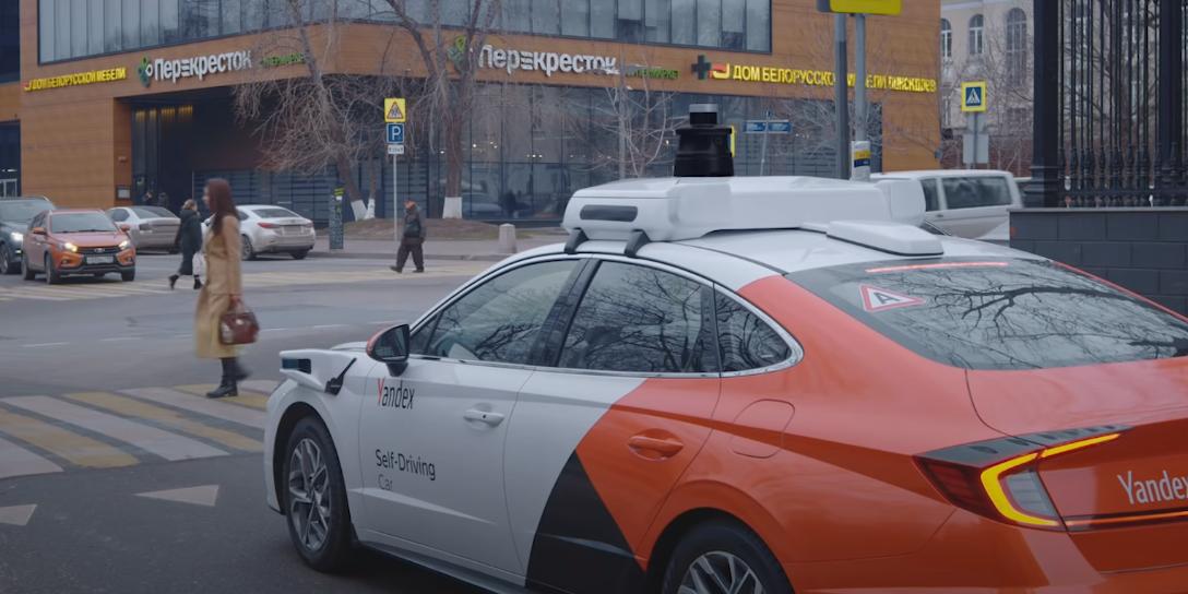 """""""Яндекс"""" представил беспилотный автомобиль на шасси Hyundai Sonata"""