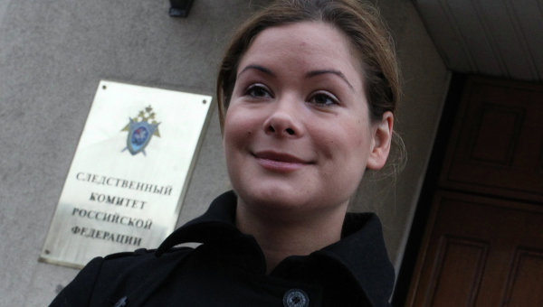 Обыск у Марии Гайдар прошёл в рамках дела о мошенничестве фирмы Навального