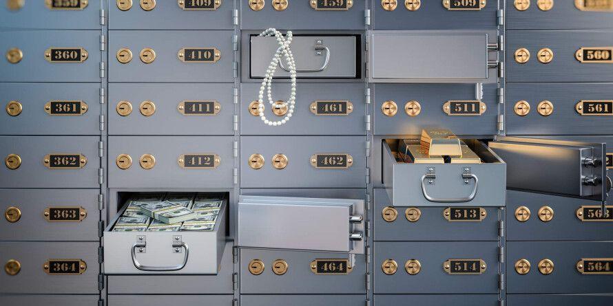 В Москве за три дня из банковских ячеек украли 250 млн рублей