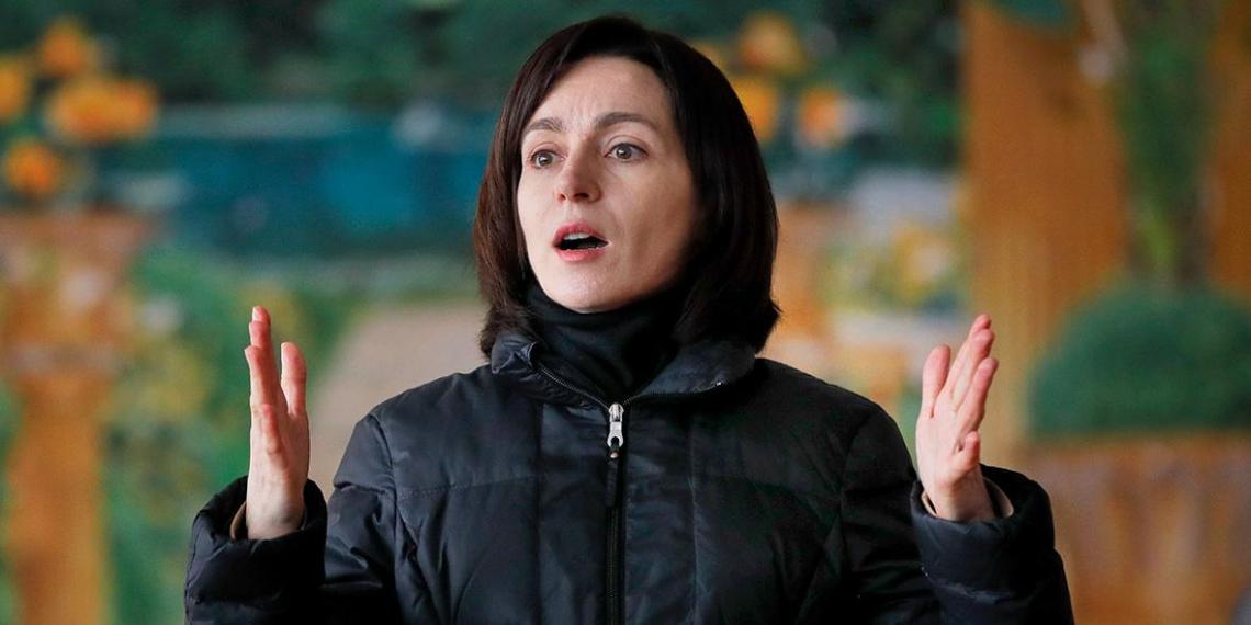 Санду пожелала наладить отношения с Россией и потребовала вывода войск из Приднестровья
