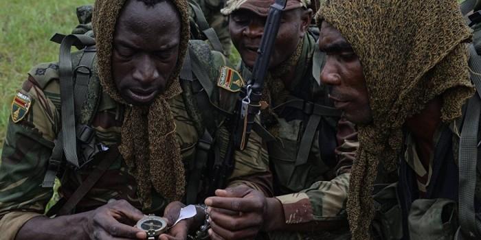 Разведчики из Зимбабве заблудились в лесу на Армейских играх в Новосибирске