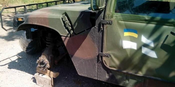 Украинские военные выдвинули претензии к американским Humvee