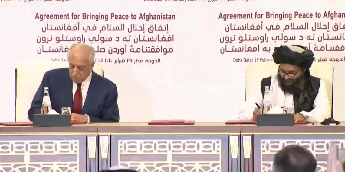 """США заключили мир с террористами """"Талибана"""""""
