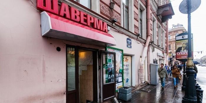 Петербуржцу дали три года за похищение шавермы