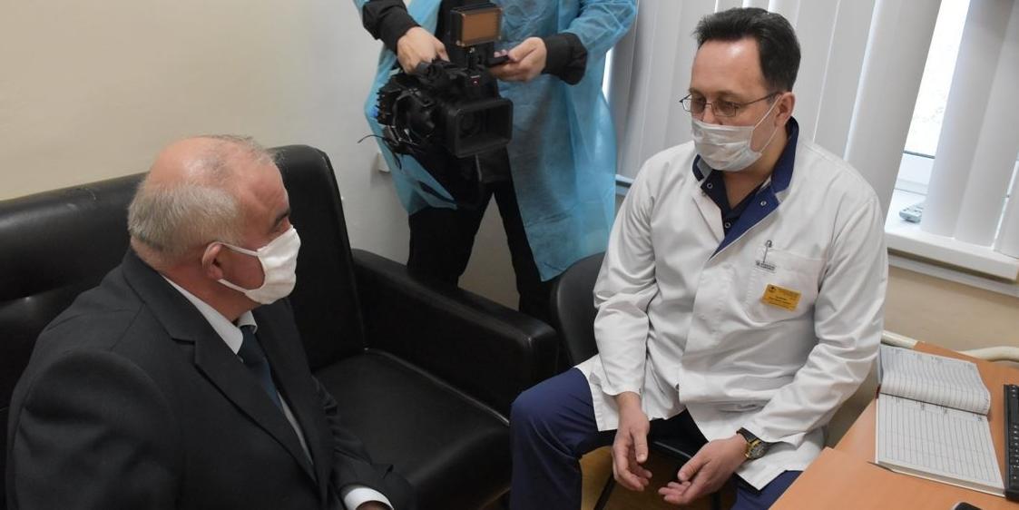 Губернатор Костромской области оценил работу консультационного диагностического центра и поблагодарил медиков за труд