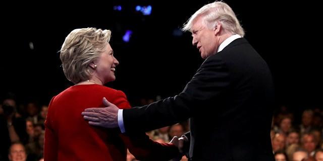 Клинтон и Трамп провели первые дебаты