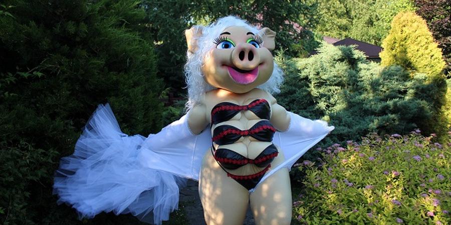Детский центр во Львове устраивает стриптиз-шоу со свинкой Каролиной
