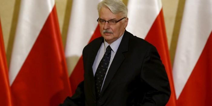 Глава МИД Польши выдвинул условия для нормализации отношений с Россией