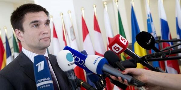 Саакашвили заявил, что глава МИД Украины имеет российское гражданство