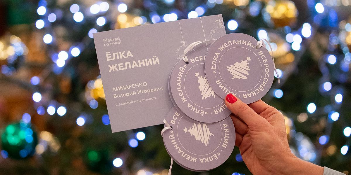 """Национальная ассоциация заслуженных врачей и наставников поддержала акцию """"Елка желаний"""""""
