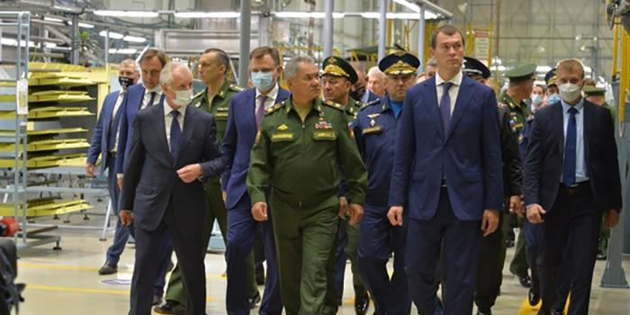 Дегтярев убедил Шойгу доверить Комсомольску выполнение госзаказа на 630 млрд