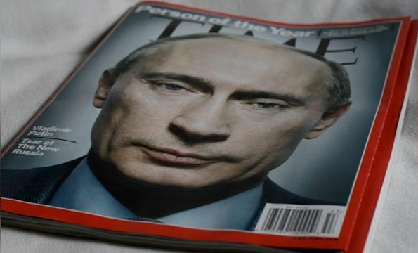 На обложке декабрьского номера Time, возможно, будет фотография Путина