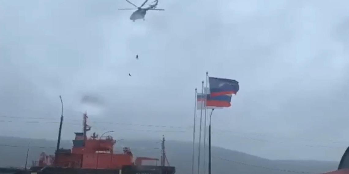 Гибель двух спецназовцев на учениях в Мурманске попала на видео
