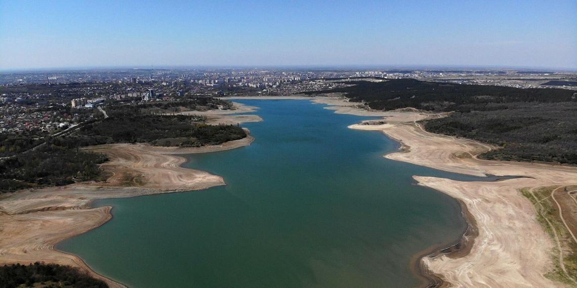 В Крыму пересохли реки, от которых питаются водохранилища