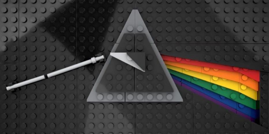 Дизайнер собрал из LEGO сотню обложек знаменитых музыкальных альбомов