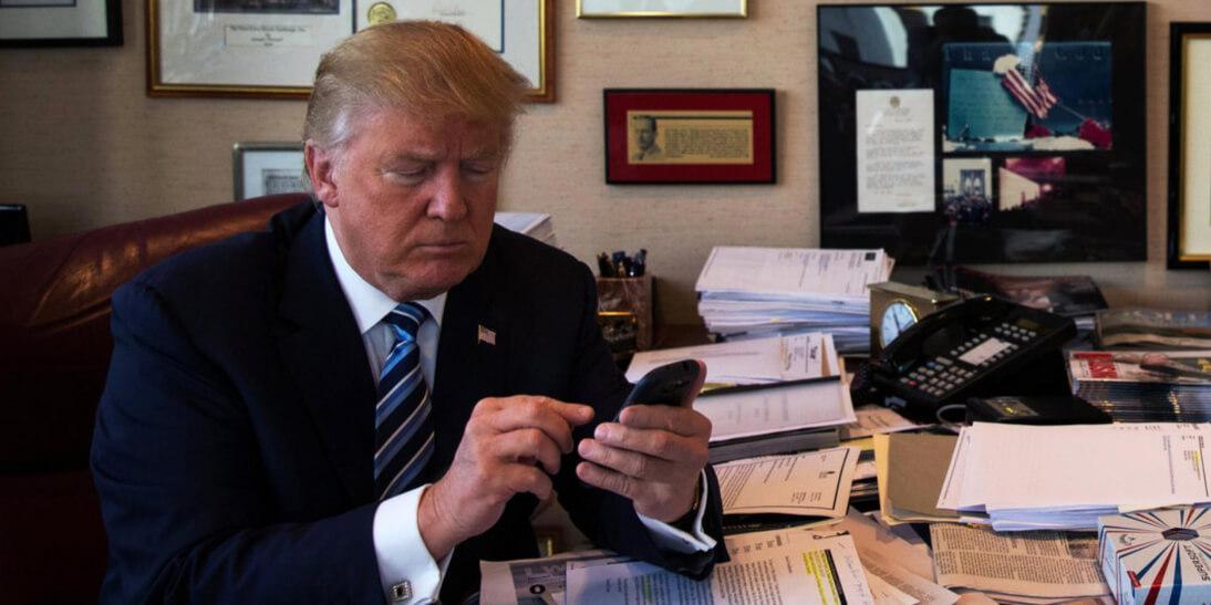 """Трамп запускает собственную социальную сеть, которая """"изменит правила игры"""""""