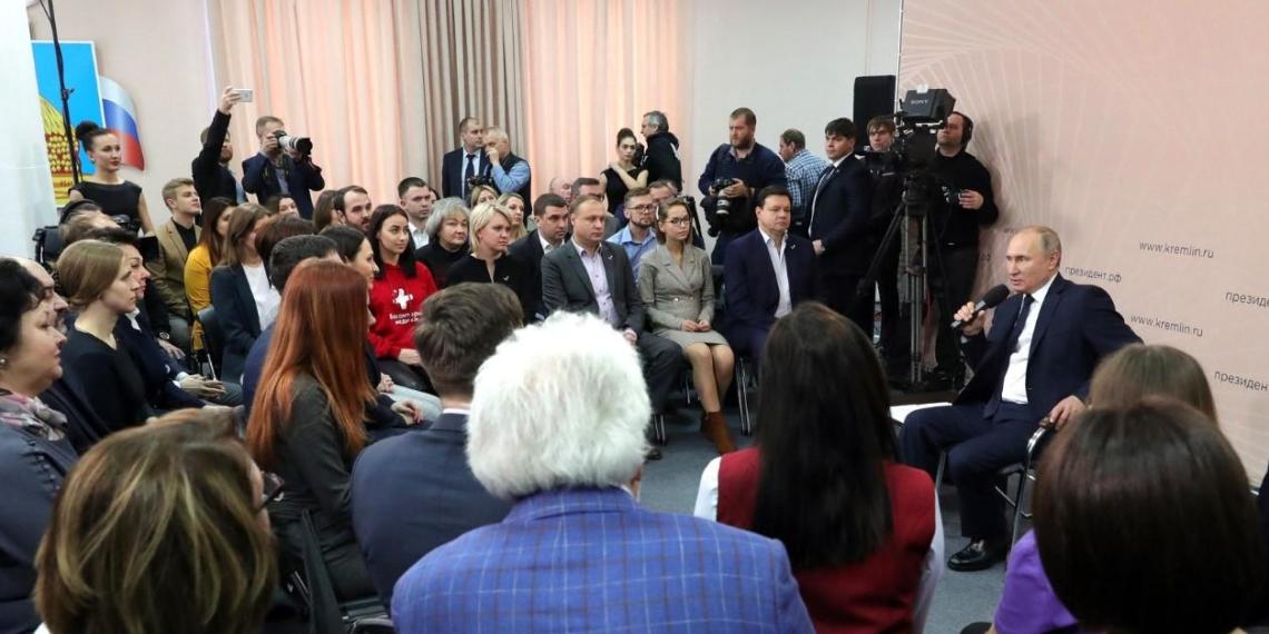 Путин рассказал, как семьям получить выплаты на детей от трех до семи лет