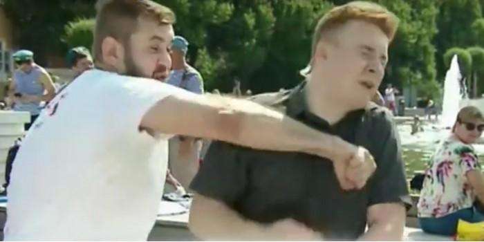 Журналист НТВ рассказал о нападении на него