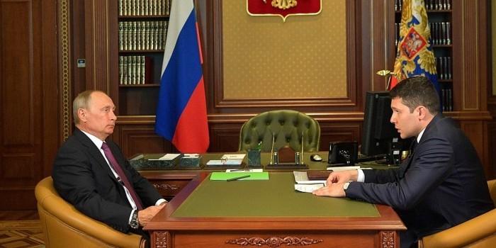 Путин обсудил с главой Калининградской области проблемы региона