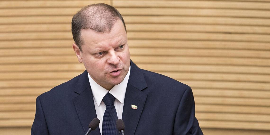 Власти Литвы хотят провести встречу с правительством Белоруссии и обсудить происходящее в стране