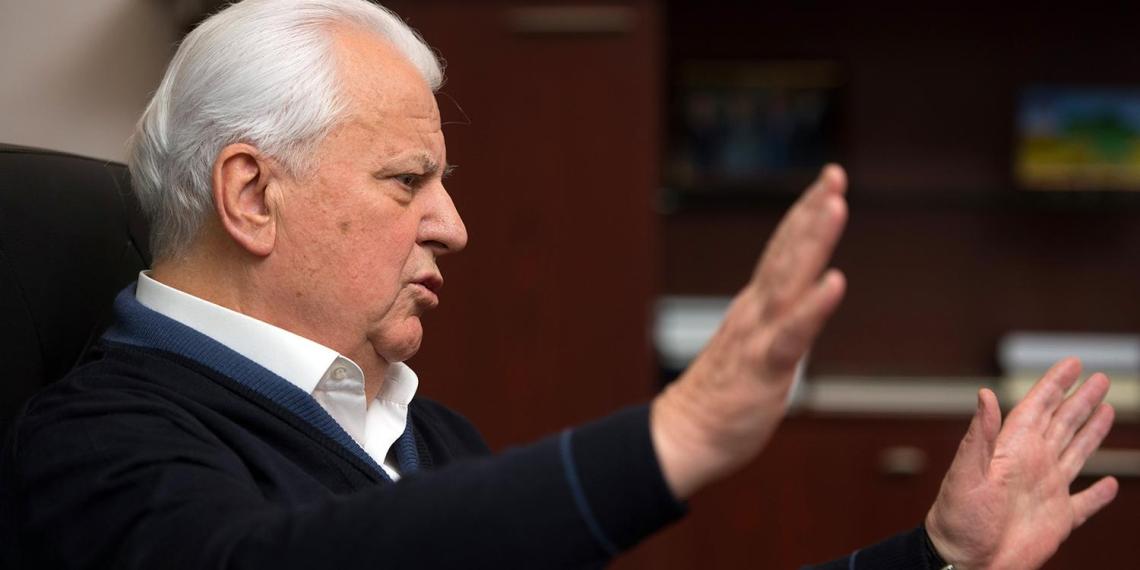 Кравчук объяснил, почему больше не поедет в Минск на переговоры