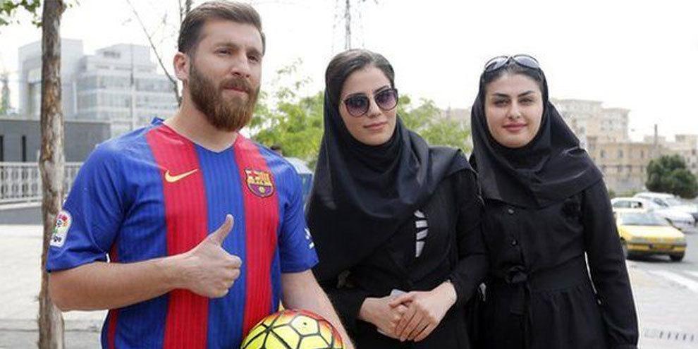 Иранского двойника Месси обвинили в совращении 23 девушек