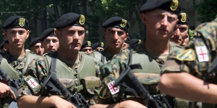 Грузинские военные не смогли принять участие в учениях НАТО из-за ветрянки