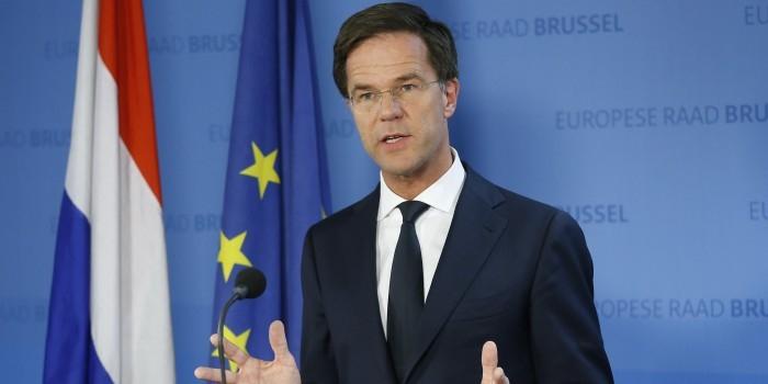 Голландский премьер ответил Эрдогану на обвинения в нацизме
