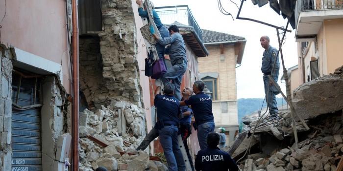 Не менее 14 человек погибли в результате землетрясения в Италии
