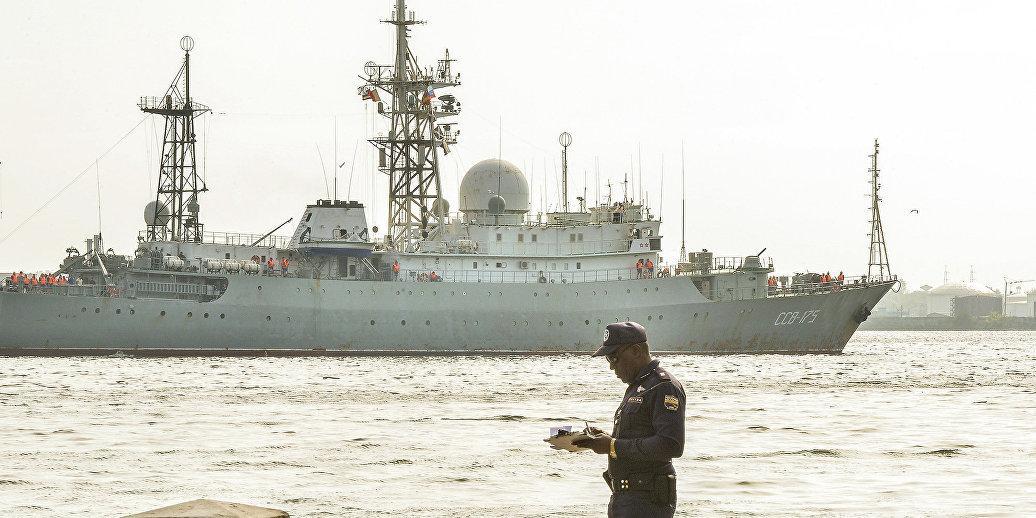 У побережья США обнаружен российский корабль-шпион