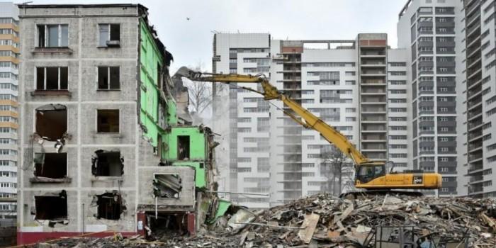 Власти Москвы начнут снос пятиэтажек с окраин