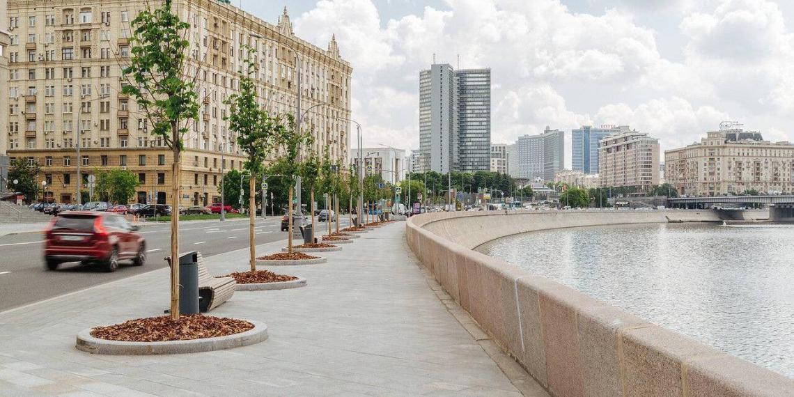 Собянин рассказал о будущем программы благоустройства городских пространств Москвы