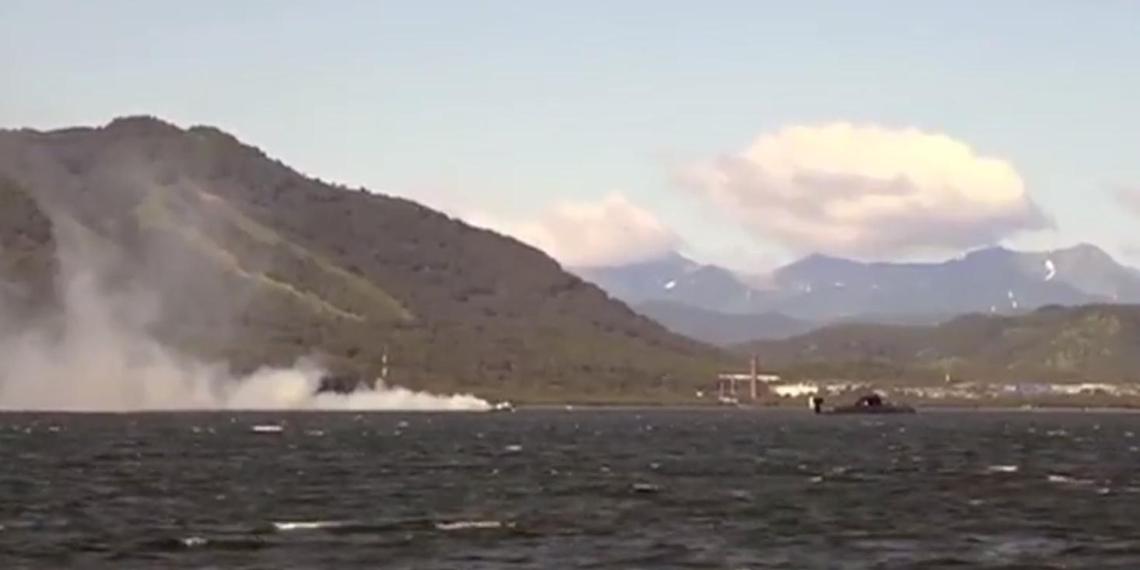 Появилось видео скрытной переброски российских атомных подлодок