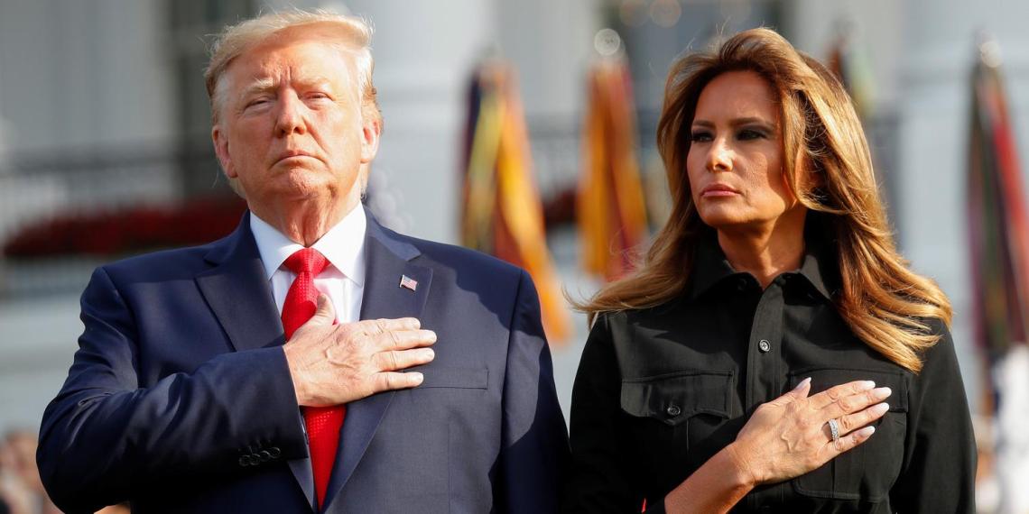 Жена Трампа решила подать на развод после его поражения на выборах