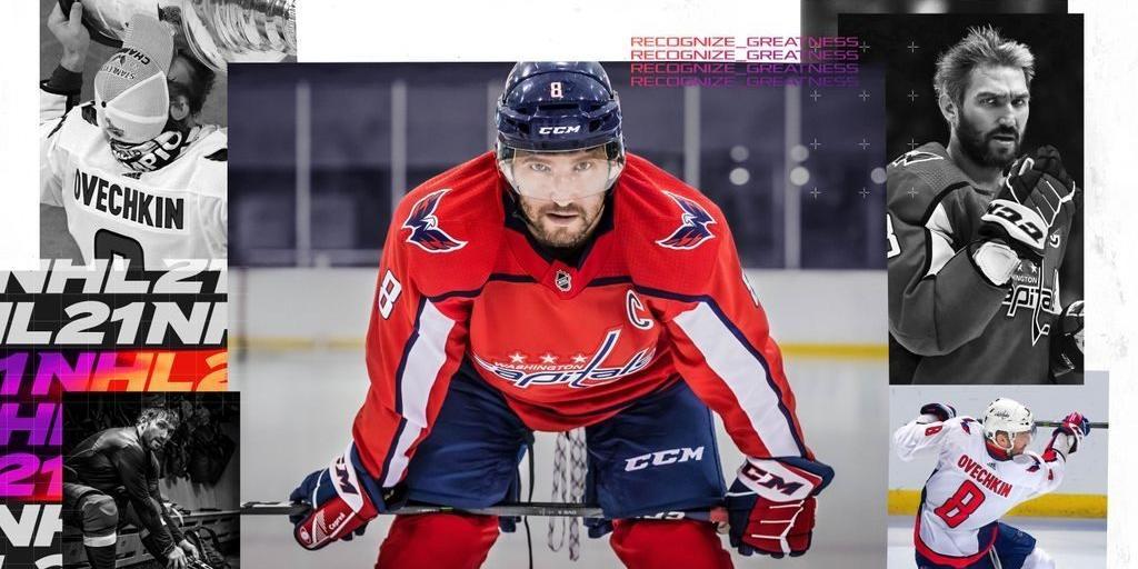 Овечкин стал главным героем промо NHL 21