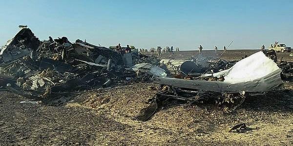 МАК: Потерпевший крушение в Египте А321 разрушился в воздухе